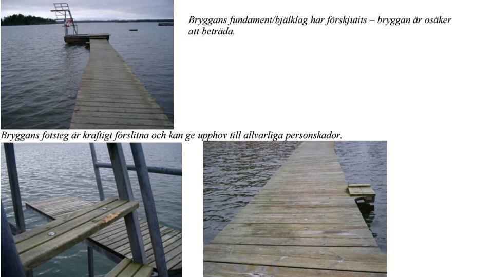 Förslag att rusta upp Rangsta badplats! Besöksfrekvensen vid badplatsen Rangsta Brygga har genom åren ökat kraftigt. En effekt av ökningen av antalet besökare är en kraftigt ökad förslitning av bryggor, hopptorn etc.