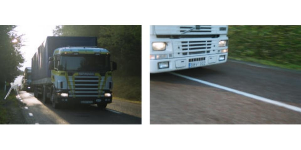 Kommunledningen har fel visar vår räkning av lastbilar på väg 225. Kommunledningen påstår att lastbilstransporterna från Baltikum kör väg 73 mot Stockholm. Sorundanets trafikräkning visar att de kör väg 225 mot Norge via Södertälje!
