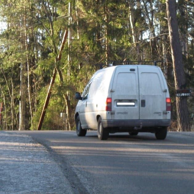 2009-02-08 - Vi frågar om säkerheten på Segersängsvägen - Nya väg 73 kommer generera mycket trafik!