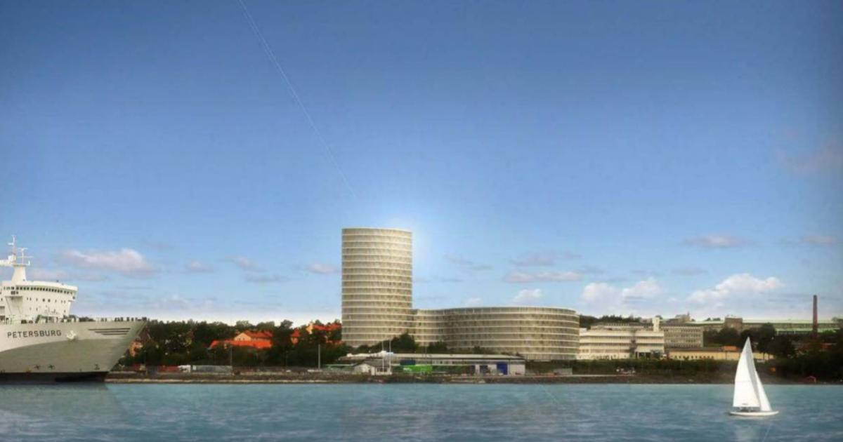 2009-10-26 - Synpunkter på detaljplan för Telegrafen 16 m.fl.! - Vi efterlyser en vision för hela Nynäshamns tätort, där den planerade nybyggnationen ingår som en del.