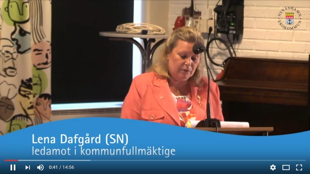 2011-06-15 - Vi ogillar bussning av skolbarn - Se debatten om bussning av elever från Stora Vika!