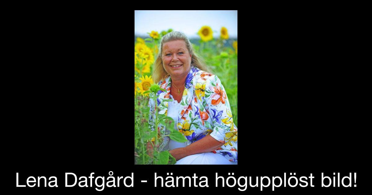 Lena Dafgård Hämta högupplöst bild!