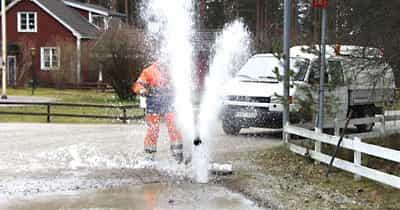 2015-03-01 - Interpellation beträffande reparation av vattenläcka - Till kommunalrådet Daniel Adborn tillika ordförande i miljö och samhällsbyggnadsnämnden