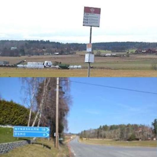 2015-05-20 - Inventering av busshållplatser utmed väg 225 samt del av väg 540 och 542 - Nynäshamns och Botkyrka kommun, Stockholms län - Publikationsnummer: TRV 2014:143.