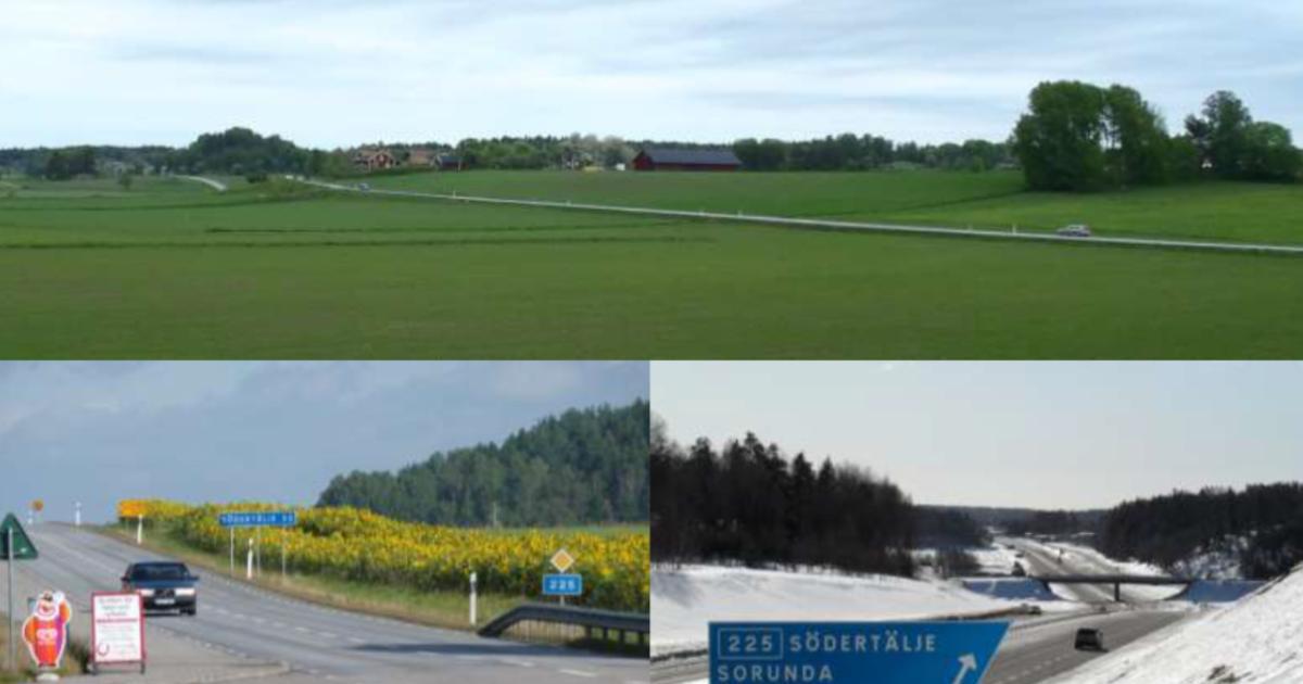 RAPPORT - Åtgärdsvalsstudie – Väg 225 mellan väg 73 och Lövstalund Nynäshamns och Botkyrka kommun, Stockholms län - Publikationsnummer: TRV 2014:142.
