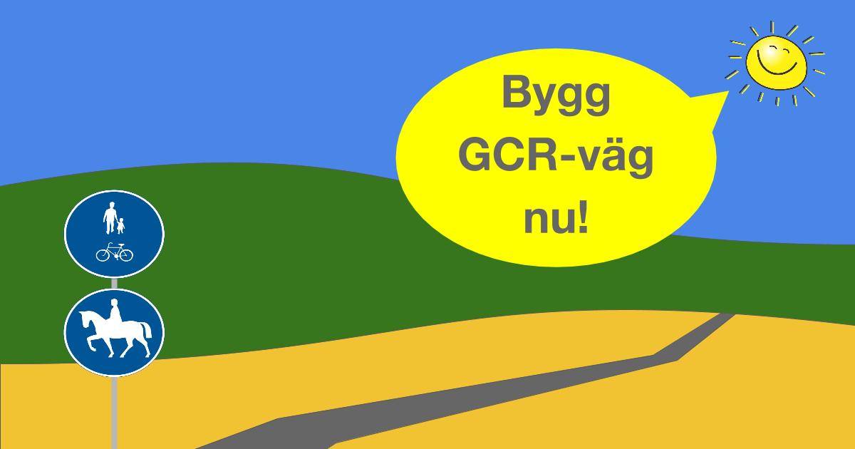 Använd massorna till en gång-, cykel- och ridväg Ta chansen att förbättra trafiksäkerheten längs väg 225 genom samverkan med Trafikverket och Stockholms Hamnar.