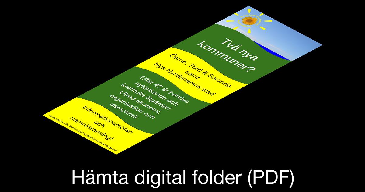 Hämta digital folder (PDF) Det här är det digitala tryckoriginalet i hög kvalitet, ca 10 MB. Hämtningen kan ta tid.