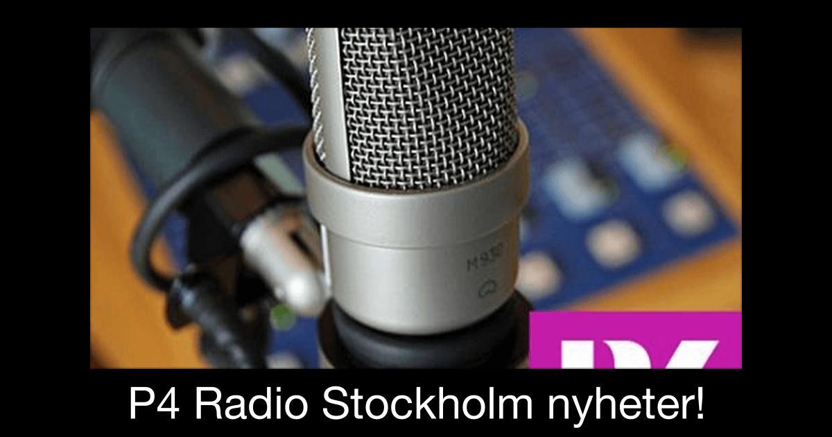 Radio Stockholm P4 Vi skrev visst ett bra pressmeddelande?