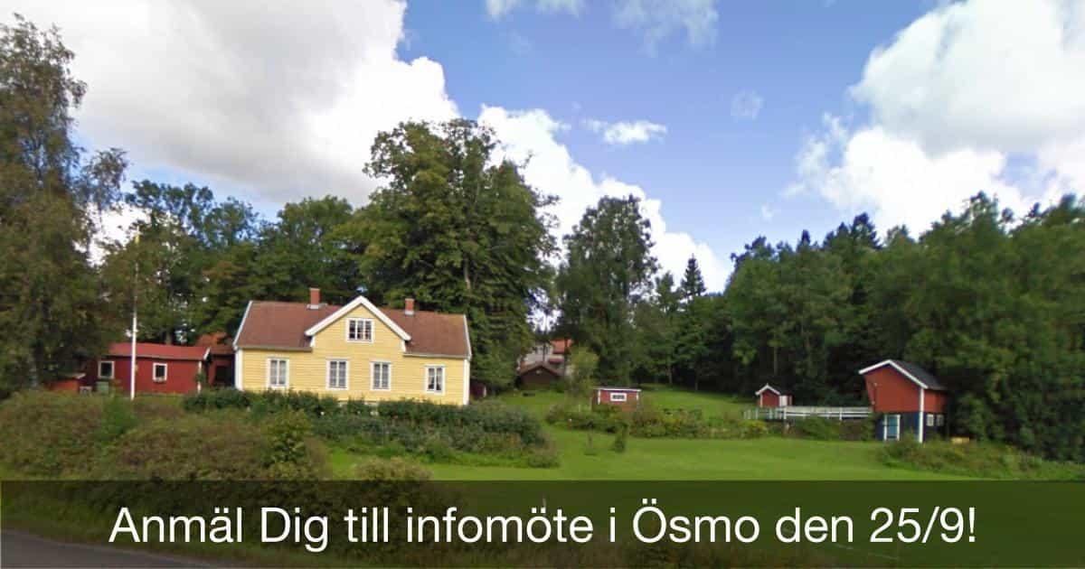 2016-09-05 - Trosas f.d. kommunalråd, Margareta Wallin, berättar entusiastiskt om hur man bildar ny kommun! - Hjälp oss med förberedelserna; anmäl Dig minst en dag i förväg. Som tack bjuder vi på fika.
