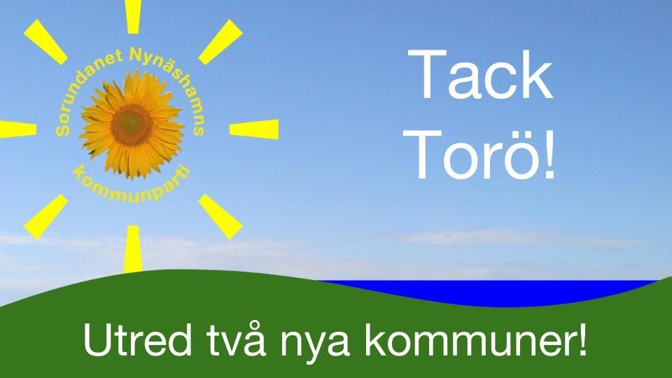 Tack för Ert engagemang! Välkommen till Lisö bygdegård den 20/11 om Du inte kunde komma till Torö.