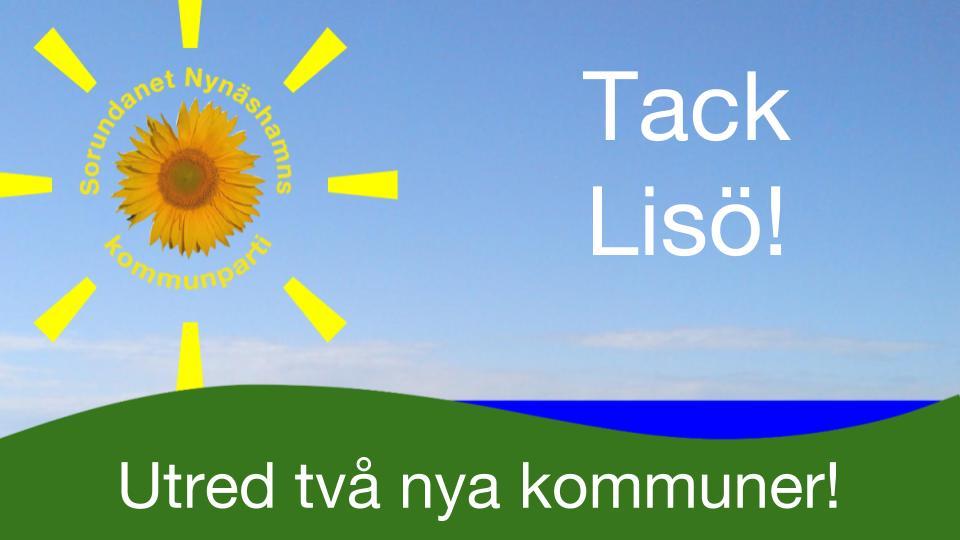 2016-11-20 - Tack för Ert engagemang! - Välkommen till Västerby bygdegård den 27/11 om Du inte kunde komma till Lisö.