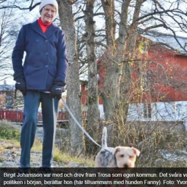 """2017-02-01 - I år firar både Trosa och Gnesta 25-årsjubileum som egna kommuner - """"Skilsmässan från Nyköping var som vilken bodelning som helst"""""""