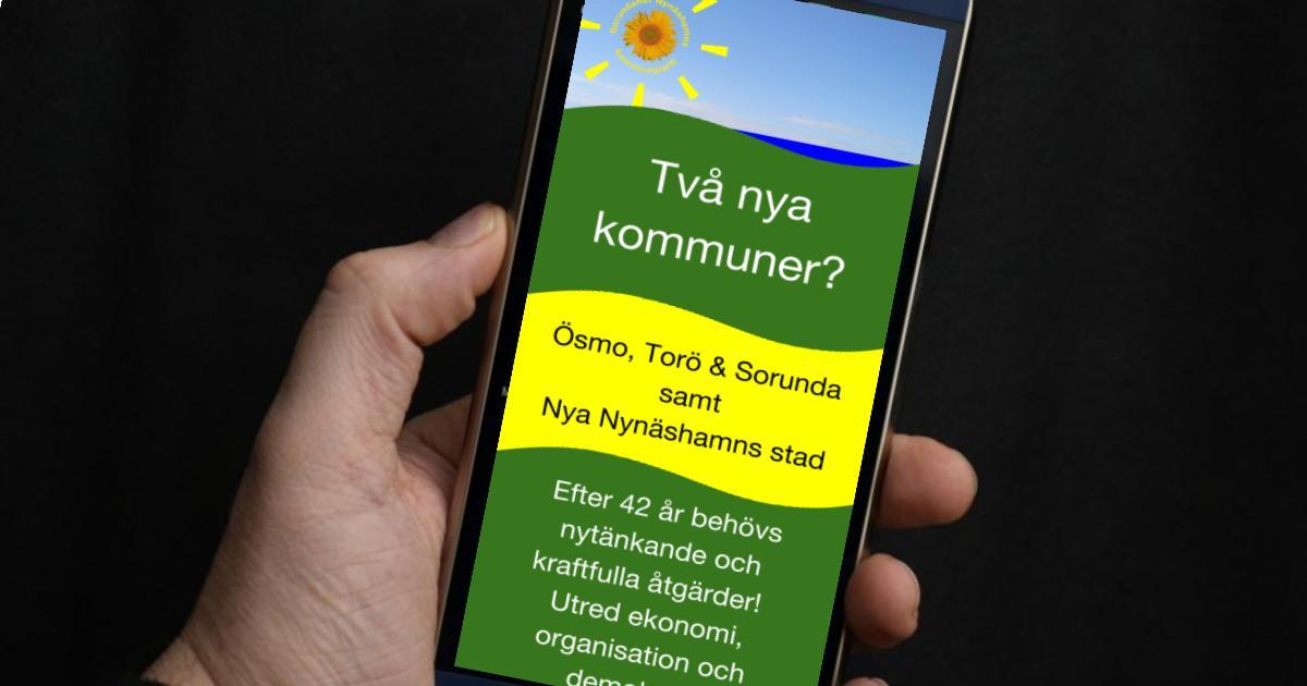 2017-02-10 - Två nya kommuner? - Läs mer!