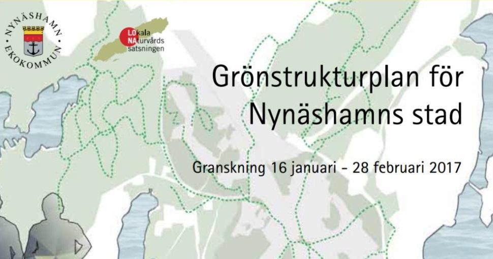 Yttrande grönstrukturplan Vi välkomnar ambitionen att utveckla naturupplevelserna för samtliga boende i hela vår kommun.