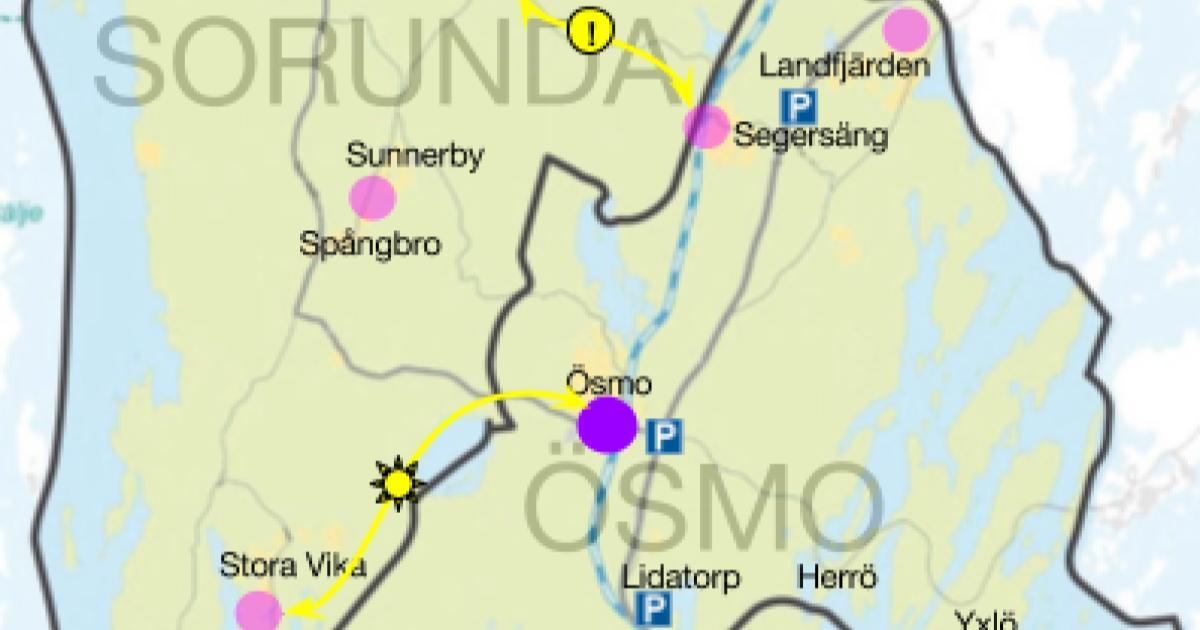 Yttrande rörande trafikförändringar i SL-trafiken i Nynäshamns kommun Vi vill dessutom utreda ny busslinje Stora Vika - Ösmo, anropstyrning och nya infartsparkeringar.