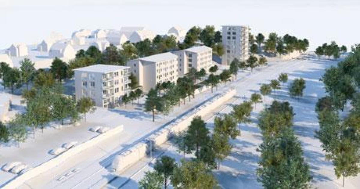 Remissvar rörande detaljplan för Kullsta 2 med flera Förslaget ansluter inte till kommande fördjupad översiktsplan för orten Nynäshamn som fastlår att bebyggelse ska vara högst 3-4 våningar.