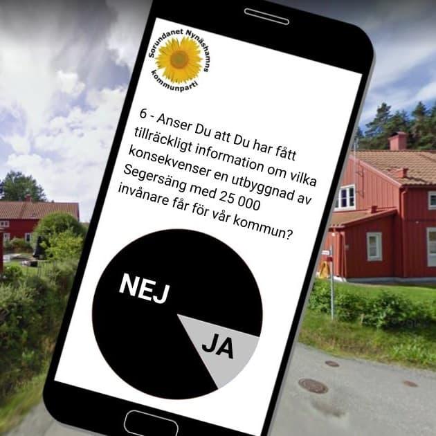 2017-11-18 - Resultat från undersökningen presenteras - Undersökningen om förslag om ny stad i Segersäng är klar.