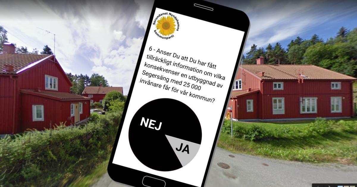 Resultat från undersökningen presenteras Undersökningen om förslag om ny stad i Segersäng är klar.