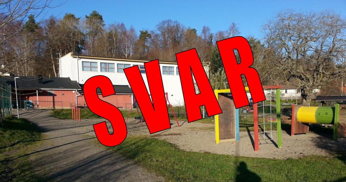 2017-11-24 - Svar på frågor om den stängda idrottshallen i Stora Vika - Boende i Stora Vika har naturligtvis samma rätt att utnyttja kommunens samtliga hallar som övriga medborgare!
