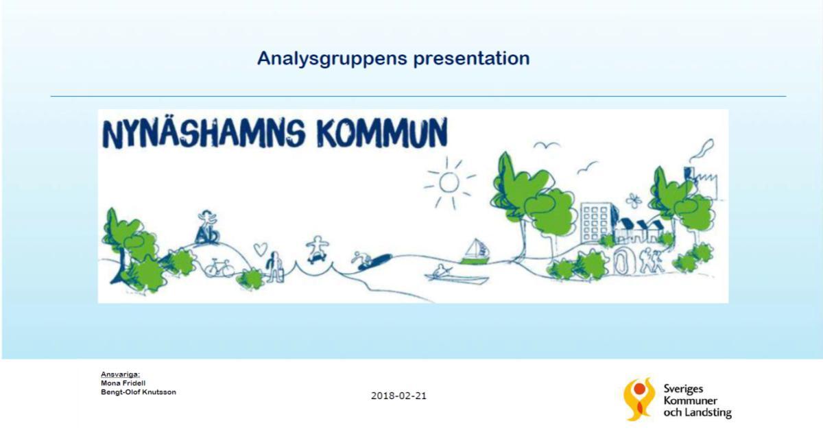 2018-02-21 - Omvärldsanalys utförd av SK - Analys av Nynäshamns kommuns ekonomiska situation.