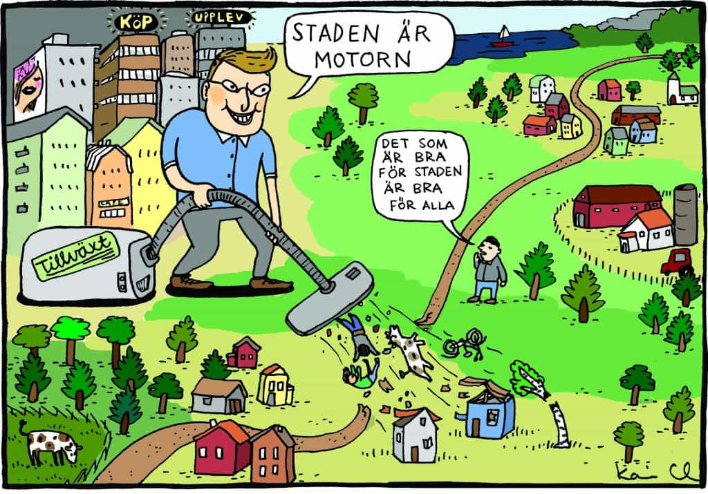 Urban norm och territoriell maktordning Nationalekonom Johanna Nilsson och företagsekonom Maria Lillieström.