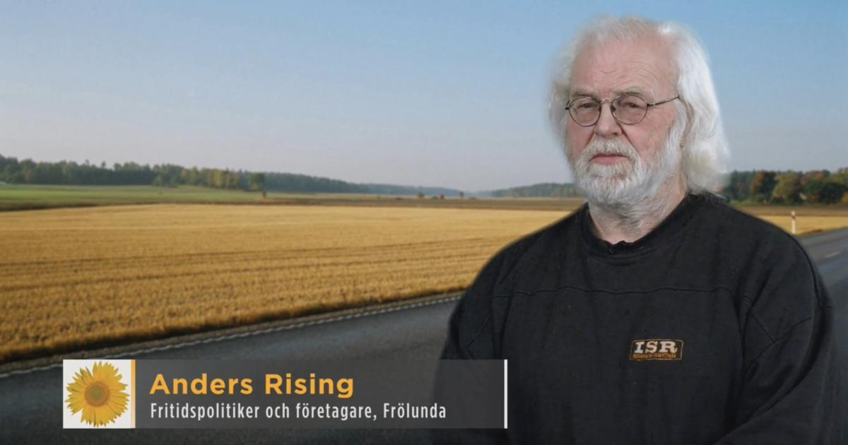 2018-03-21 - Våra kandidater till Kommunfullmäktige 2018-2022 - Anders Rising är fritidspolitiker, företagare och bor i Frölunda.