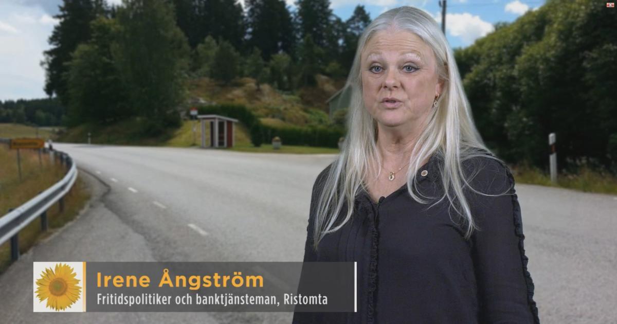 2018-05-11 - Våra kandidater till Kommunfullmäktige 2018-2022 - Irene Ångström är fritidspolitiker, banktjänsteman och bor i Ristomta.