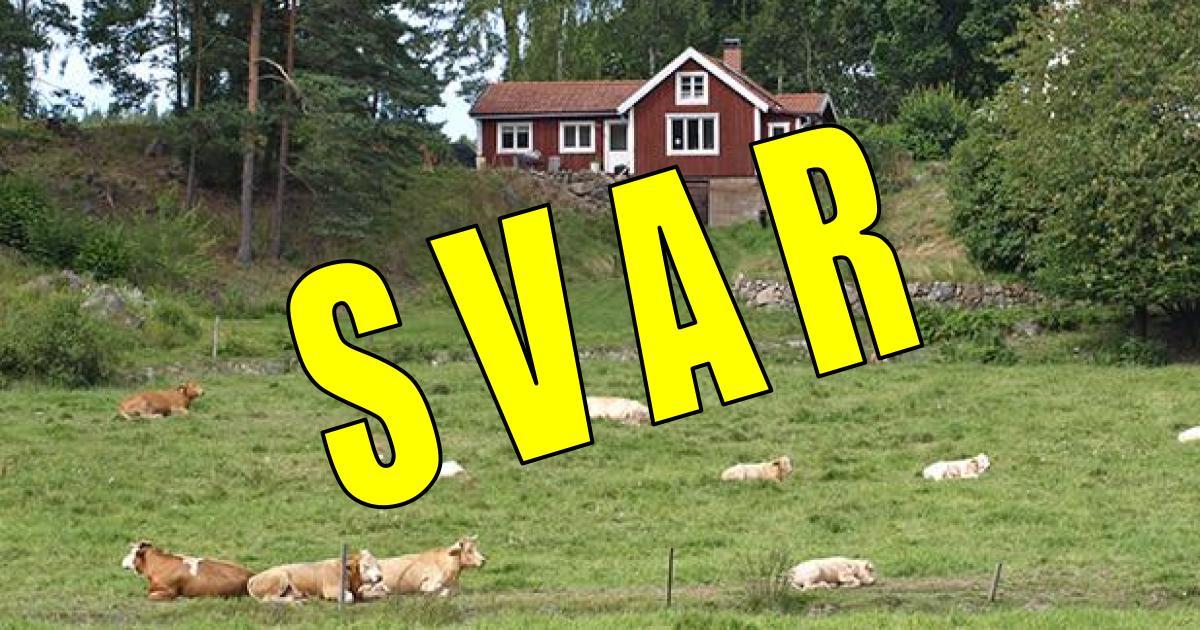 2018-05-29 - Landsbygdsutskottets ordförande svarar - Landsbygsprogrammet får 1 miljon kronor per år.