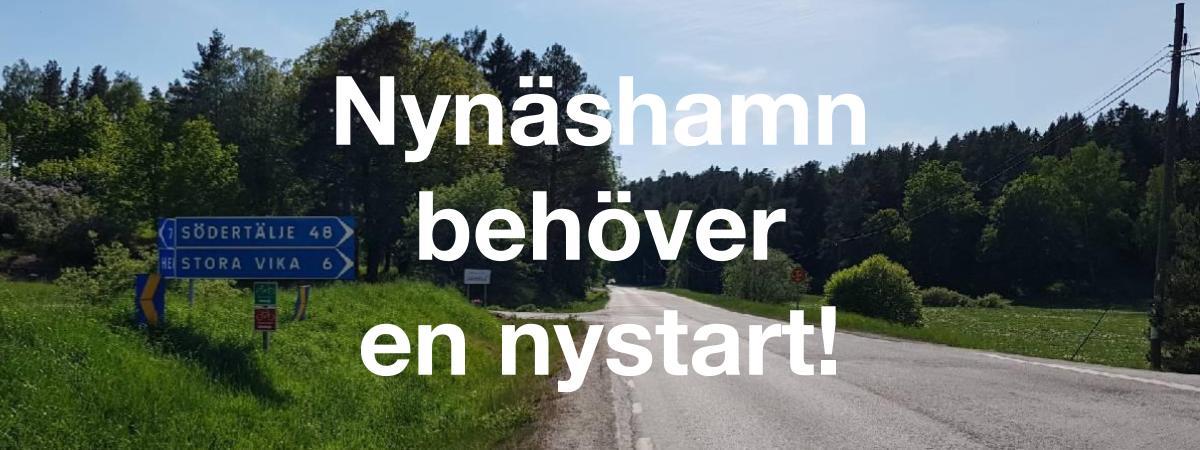 2018-06-01 - Nynäshamn behöver en nystart! - Rösta för en nystart! Rösta på Sorundanet Nynäshamns kommunparti!