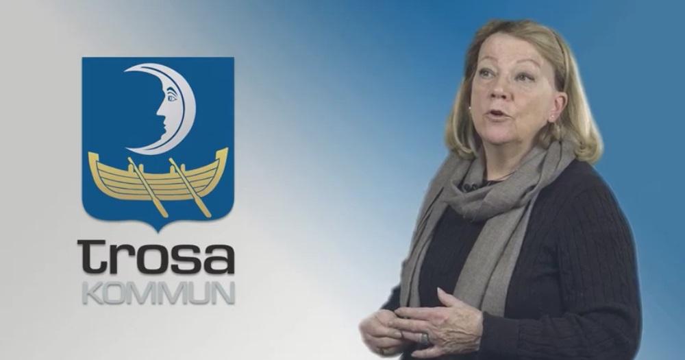 Margareta Wallin - Erfarenheter av att bilda ny kommun. Trosa blev egen kommun 1992 och ligger knappt en timme med bil söder om Stockholm.
