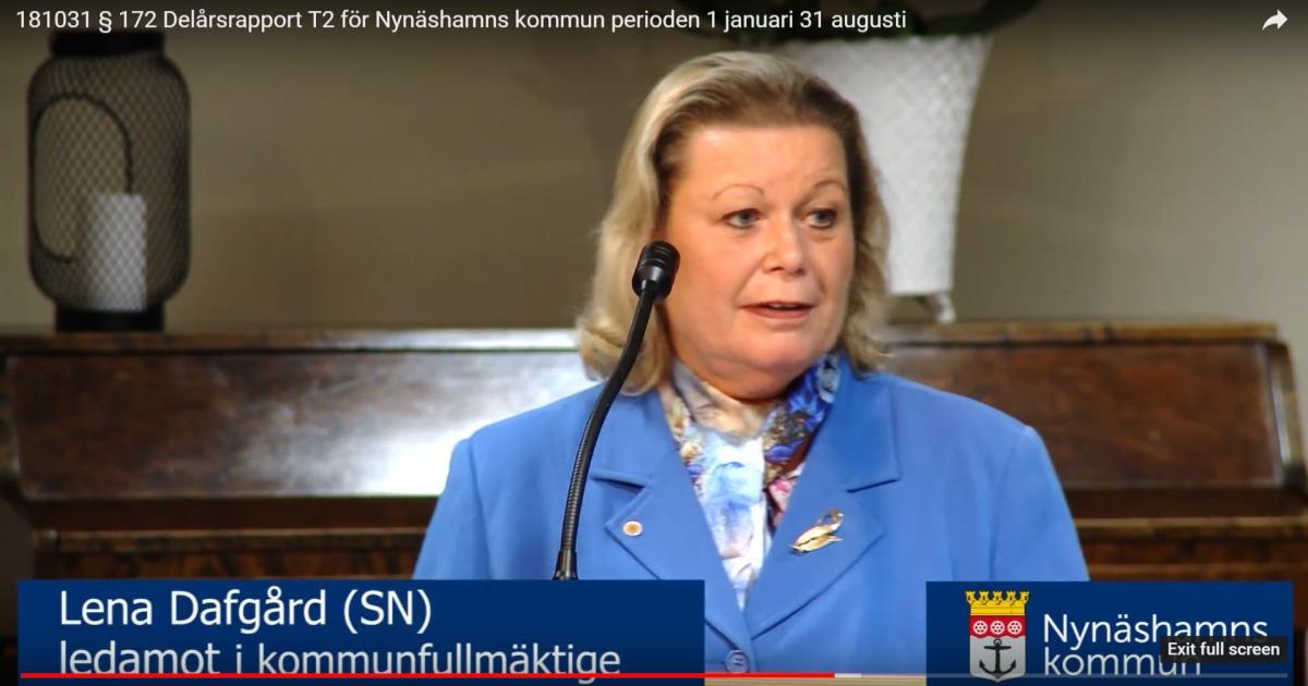 2018-10-31 - Kommunfullmäktige - Se debatten och läs handlingarna.