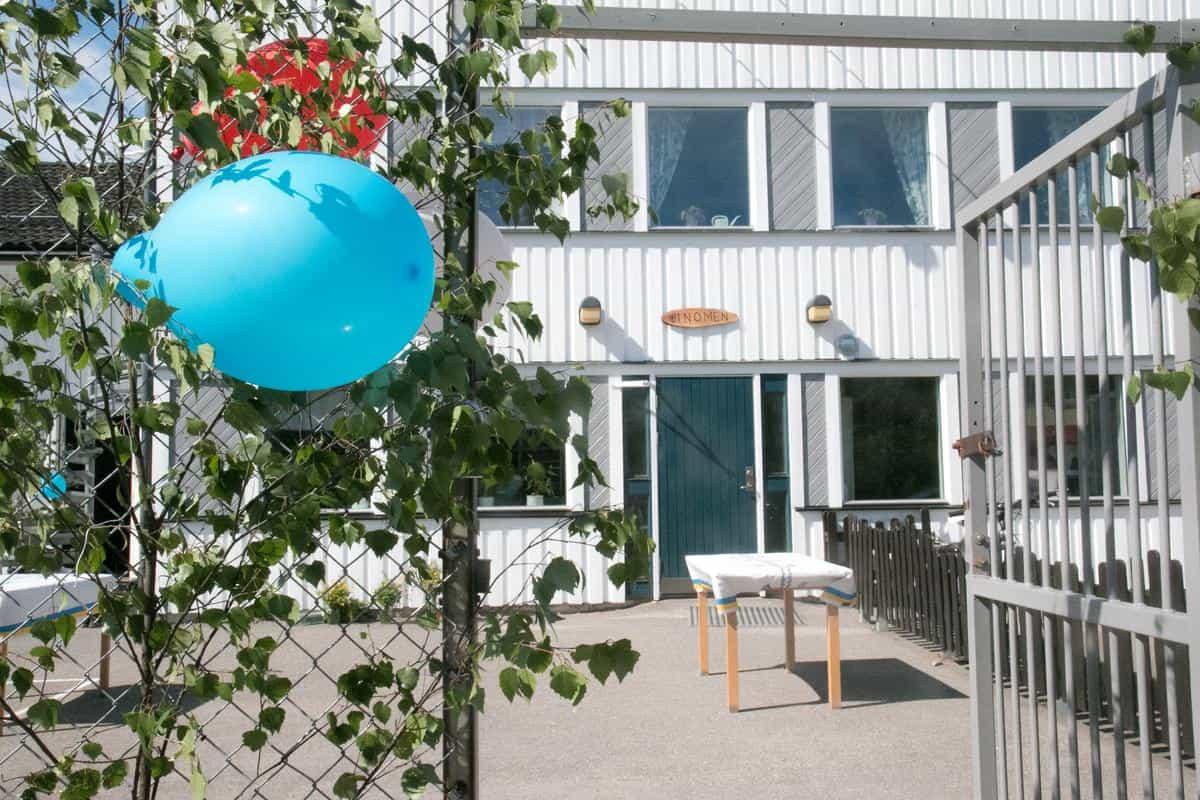 """2019-01-28 - En bra lösning för Binomen - Lyft ut fastigheten """"Förtennaren"""" som skolan Binomen ligger på och gör en """"frimärksplan"""" av den."""