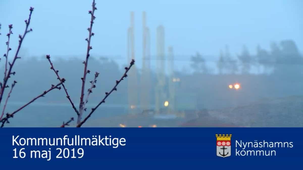 2019-06-13 - Kommunfullmäktige 2019-06-13 - Vi debatterar och yttrar oss om E-strategi, företagsklimat och barnbokslut.