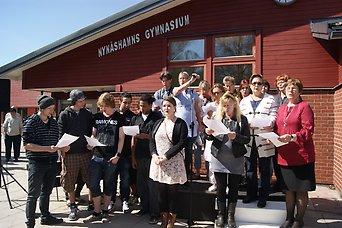 2020-06-16 - Tilläggsyrkande beträffande förhyrning av skollokaler i orten Nynäshamn - Vi vill utreda flytt av Viaskolans högstadium till gymnasiet, som har en mycket stor överkapacitet.