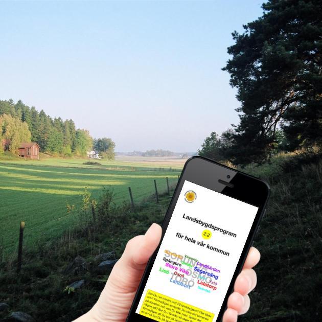 Landsbygdsprogram - Vår kommun erbjuder möjligheten till ett unikt lantligt boende med levande landsbygd nära Stockholm