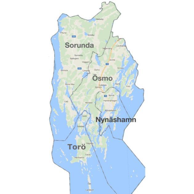 """2021-01-18 - Frågor och svar om """"kommundelningsutredningen"""" - Finns det någon karta på den föreslagna kommundelningen?"""
