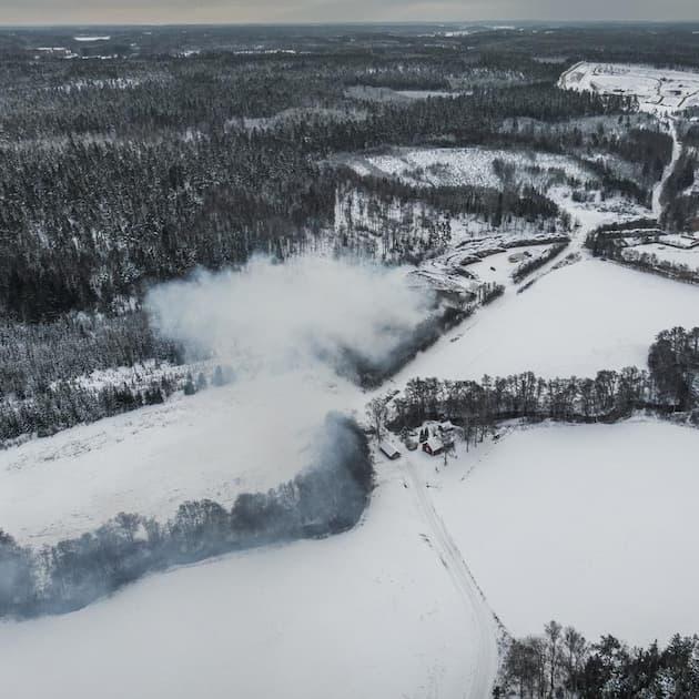 2021-02-20 - Hur tänker vår kommun följa upp sophaveriet i Kagghamra? - Nynäshamns Naturskyddsförening undrar i en insändare hur Nynäshamns kommun tänker följa upp konsekvenserna av den stora sopbranden i Kagghamra.