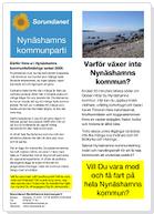 2014-01-18 - Varför växer inte Nynäshamns kommun? - Saknar kommunledningen insikt och handlingskraft för att få hela vår kommun att utvecklas positivt?