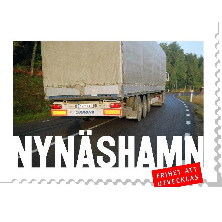 2010-04-16 - Trafiken på väg 225 är en viktig fråga - Hamnen i Nynäshamn och få tvärförbindelser på Södertörn innebär att tung trafik tvingas ta väg 225. Vad kan vår kommun göra?