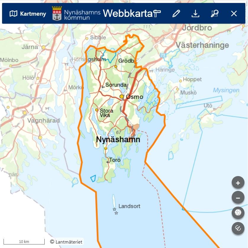 Webbkarta
